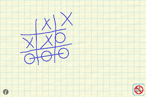 Screenshot AI Tic Tac Toe – Draw to play w CPU